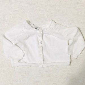 Carters Newborn Cardigan